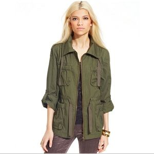 Bar III Army Green Utility Field Jacket